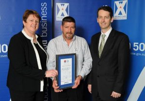 allpoint security central coast business award