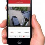 Allpoint Security also supply a mobile app to monitor your security cameras